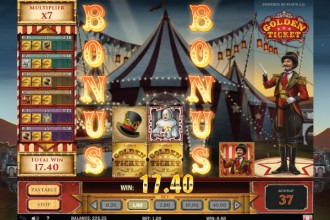 Golden Ticket Slot Bonus Reels