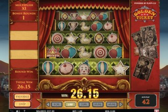 Golden Ticket Slot Free Spins