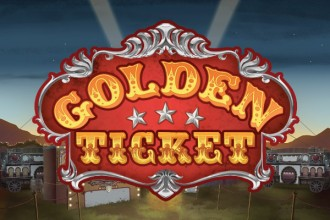 Golden Ticket Slot Logo