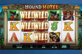 Hound Hotel Slot Wilds