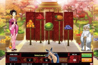 Ninja Fruits Slot Pick Me Bonus
