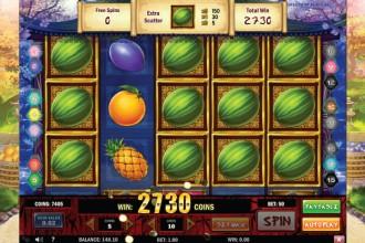 Ninja Fruits Slot Online Free Spins
