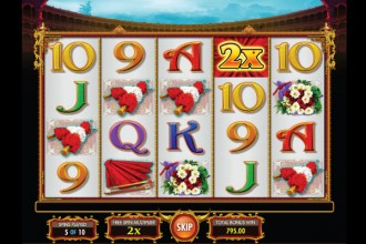 Pamplona Slot Free Spins Win