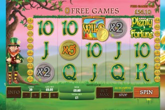 Play Plenty O' Fortune Online Slots at Casino.com NZ