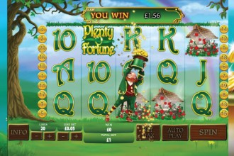 Plenty O Fortune Online Slot Wishing Well Bonus