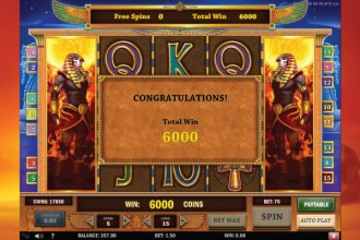 Riches of Ra Online Slot Bonus Win
