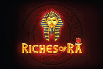 Riches of Ra Online Slot Logo