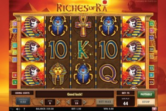 Riches of Ra Online Slot Wilds