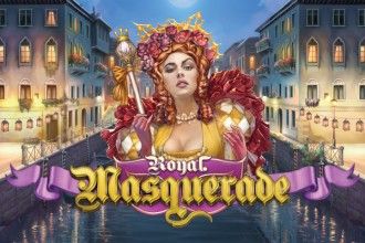 Royal Masquerade Slot Logo