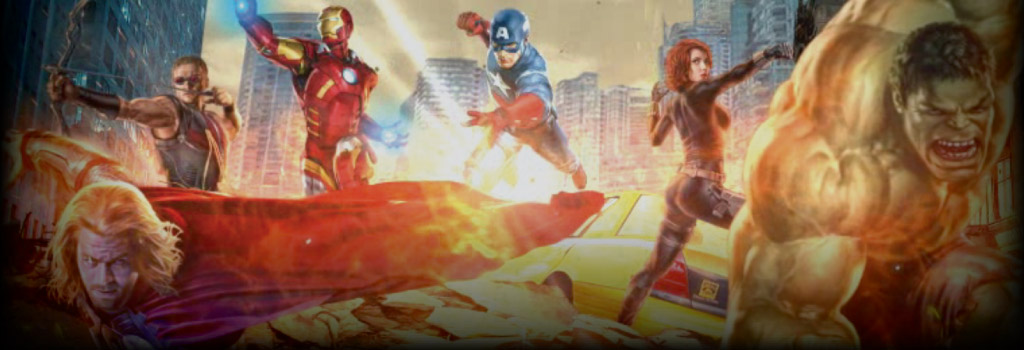The Avengers Background Image