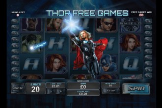 The Avengers Online Slot Thor Free Games