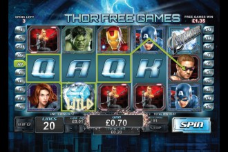 The Avengers Slot Free Games