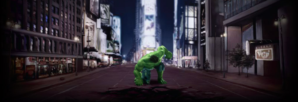 The Incredible Hulk Background Image