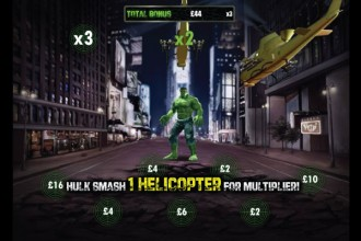 The Incredible Hulk Slot Smash Bonus