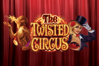 The Twisted Circus Slot Logo