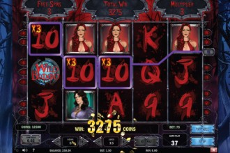 Wild Blood Slot Reels and Win