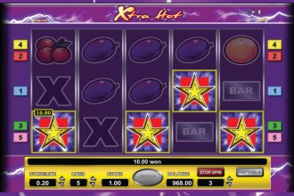Xtra Hot Online Slot Scatter Wins