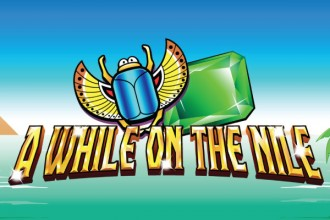 A While On The Nile Slot Logo
