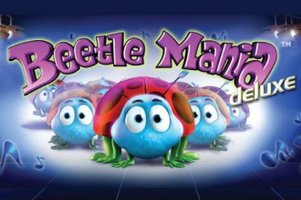 Beetle Mania deluxe - a scuttling slot at Casumo