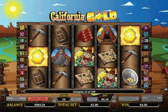 California Gold Slot Scatters