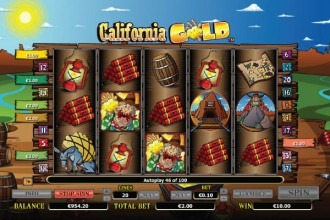 California Gold Slot Win