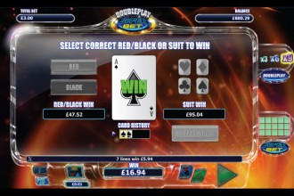 DoublePlay SuperBet Slot Gamble Feature