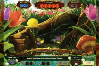 Enchanted Meadow Slot Bonus Game