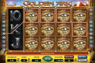 Golden Ark Slot Free Spins