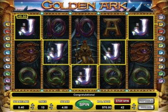 Golden Ark Online Slot Reels
