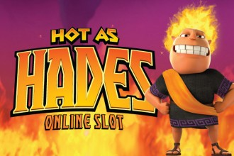 Hot As Hades Slot Logo