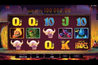 Hot As Hades Slot Reels
