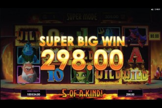 Hot As Hades Slot Super Big Win