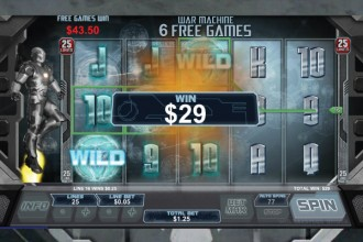 Iron Man 3 Slot Free Spins Win
