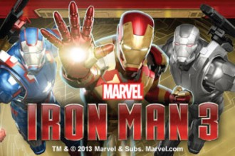 Iron Man 3 Slot Logo
