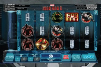 Iron Man 3 Slot Reels