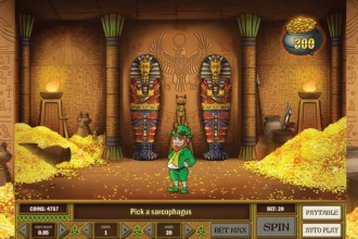 Leprechaun Goes Egypt Slot Bonus Game