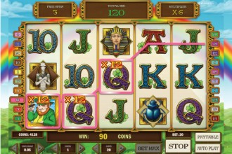 Leprechaun Goes Egypt Online Slot - Try this Quirky Game Free