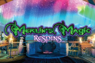 Merlins Magic Respins Slot Logo