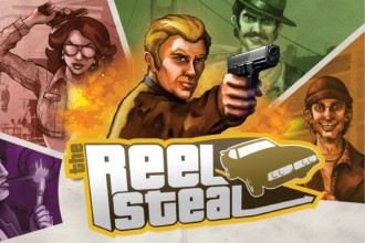 The Reel Steal Slot Logo