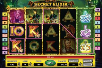 Secret Elixir Slot Free Spins Win