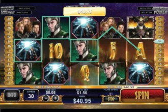 Thor Slot Wilds Bonus