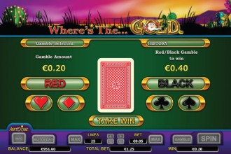 Where's The Gold Slot Gamble Feature