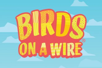 Birds On A Wire Slot Logo