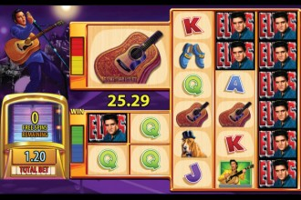 Elvis The King Lives Slot Free Games