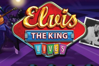 Elvis The King Lives Slot Logo