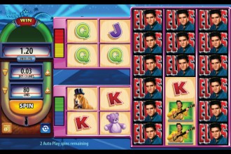 Elvis The King Lives Slot Stacked Wilds
