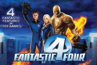 Fantastic Four Slot Logo