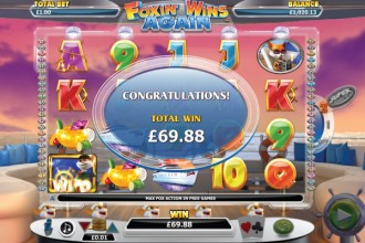 Foxin Wins Again Slot Free Spins Win