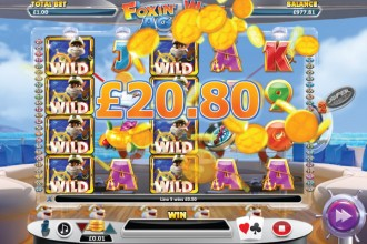 Foxin Wins Again Slot Big Win
