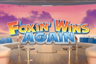 Foxin Wins Again Slot Logo